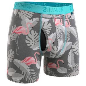 Swing Shift Boxer Brief -Flamingo