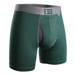 Power Shift Boxer Brief – Dark Green