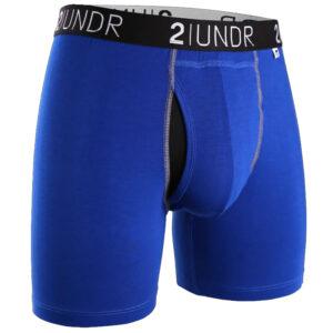 Swing Shift Boxer Brief – Blue/Blue