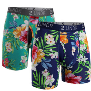 Father's Day Deal:  2 pack Swing Shift 6″ boxer brief – Tahiti/Turks
